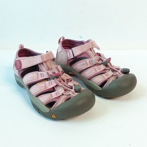 {Keen} Pink Gray Outdoor Hiking Sandals Size 3